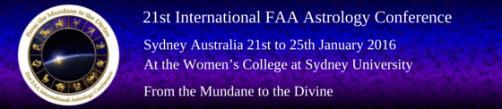 21st International FAA Astrology Conference 2016