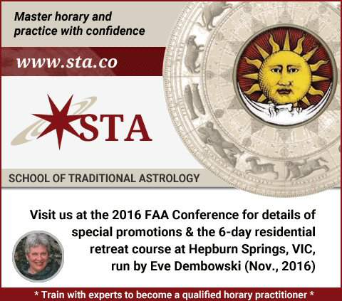 Trade Fair Stands School of Traditional Astrology