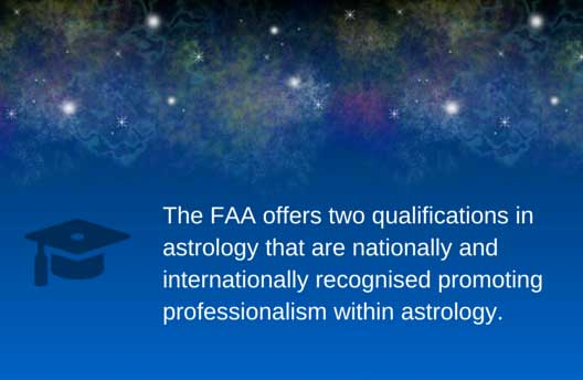 Two astrology qualifications