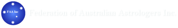 Federation of Australian Astrologers Inc. Logo
